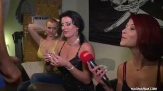 Vintage-Porno mit einem deutschen Modell