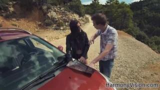 Briana Banderas fucking mit ihrem Mann in Heimvideo