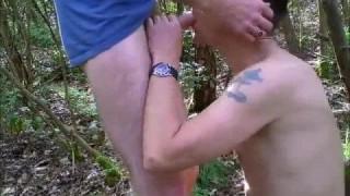 Arschvögeln in der Mitte des Waldes bei pornhub.de